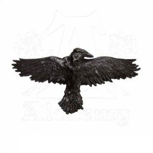 sponka ALCHEMY GOTHIC - Raven - HH10