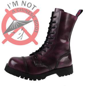 boty kožené - - NEVERMIND - 10110S_PolidoLilac