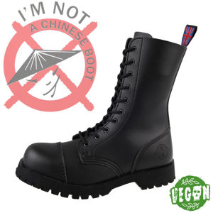 boty kožené NEVERMIND Vegan černá 36
