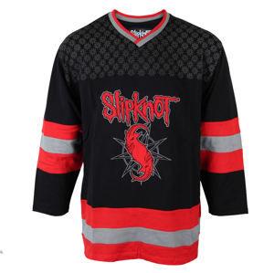 tričko metal BRAVADO Slipknot Goat Hockey černá červená S