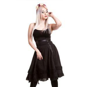 sukně dámská VIXXSIN - Stray Cat - Black - POI118 L