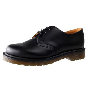 boty kožené Dr. Martens 3 dírkové černá 47