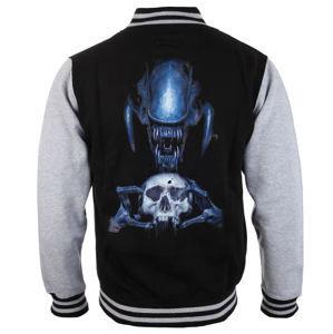 mikina bez kapuce pánské Alien - Vetřelec - Skull - NNM - AL-TD01
