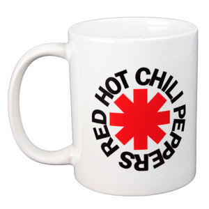 hrnek RED HOT CHILI PEPPERS - LOGO - BIOWORLD - MG23599