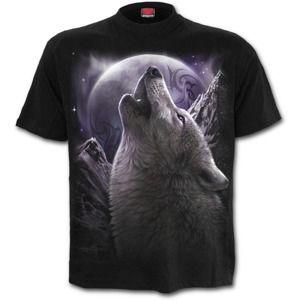 SPIRAL WOLF SOUL černá