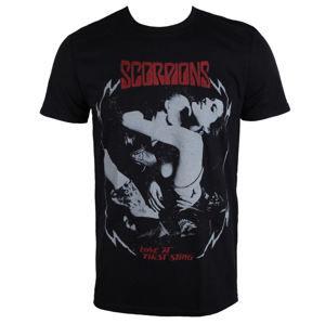 tričko metal PLASTIC HEAD Scorpions Love At The First Sting černá XXL