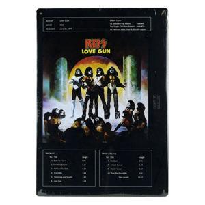 cedule KISS - Love Gun - ICC-2M-K01-2001