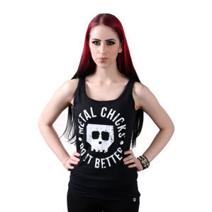 tílko METAL CHICKS DO IT BETTER Skull M
