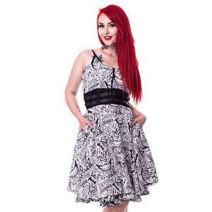 šaty dámské SUICIDE SQUAD - JOKER TATTOO - WHITE - POI355 L