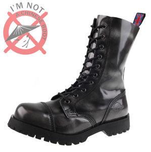boty kožené pánské - - NEVERMIND - 10110S_PolidoGrey