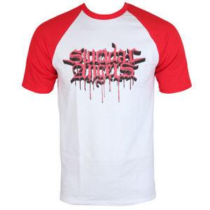 Tričko metal MASSACRE RECORDS Suicidal Angels Bloody Logo černá bílá XL