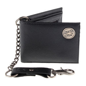 peněženka SANTA CRUZ - Chain Dot - SCAMNY-010 BLACK