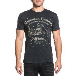 tričko hardcore AFFLICTION AC Vintage Dealer černá L