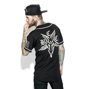 košile (unisex) BLACK CRAFT - Team Satan Baseball Jersey - PT001TS