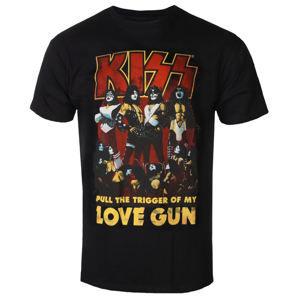 tričko pánské Kiss - Love Gun - ROCK OFF - KISSTS10MB