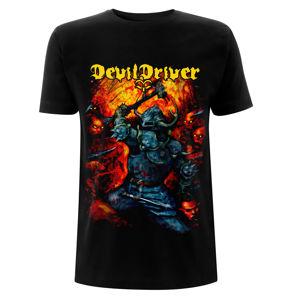 tričko metal NNM Devildriver Warrior černá S