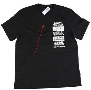 tričko pánské CONVERSE - Suicidal Tendencies - POŠKOZENÉ - MA019