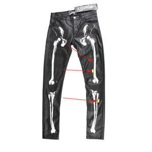 kalhoty dámské VIXXSIN - X RAY - BLACK - POŠKOZENÉ - MA043