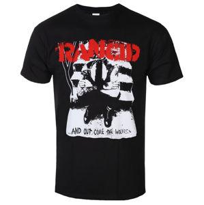 tričko metal KINGS ROAD Rancid And Out Come The Wolves černá M