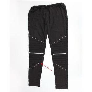 kalhoty dámské (legíny) Vixxsin - WIND - BLACK - POŠKOZENÉ - MA160