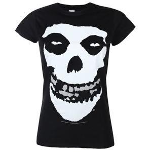 tričko metal PLASTIC HEAD Misfits SILVER FOIL černá XL