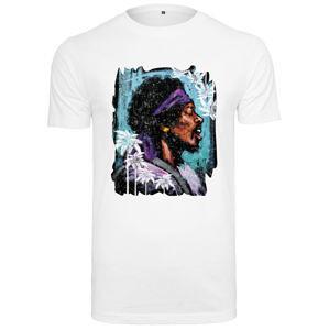 Tričko metal NNM Jimi Hendrix URBAN CLASSICS černá 3XL