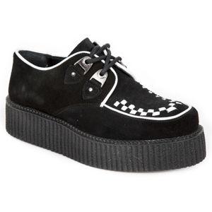 boty kožené NEW ROCK ANTE NEGRO NAPA černá 39