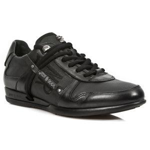 boty kožené NEW ROCK NOMADA NEGRO černá 44