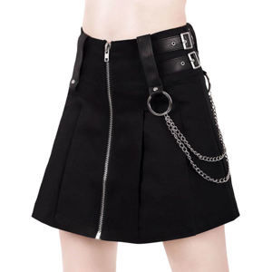 sukně dámská KILLSTAR - Nancy - BLACK - KSRA000377 L