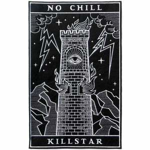 nášivka KILLSTAR - No Chill - Black - K-MIS-U-2752