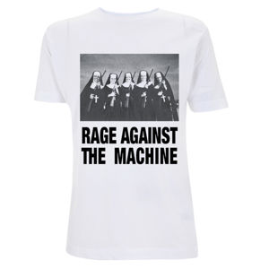 tričko pánské Rage Against The Machine - Nuns And Guns - White - RTRAMTSWNUN