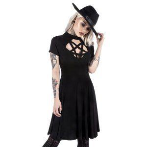 šaty dámské KILLSTAR - Scariel Penta - Black - K-DRS-F-2713 XL