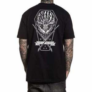 tričko pánské SULLEN - COFFIN SKULL - BLACK - SCM1837_BK