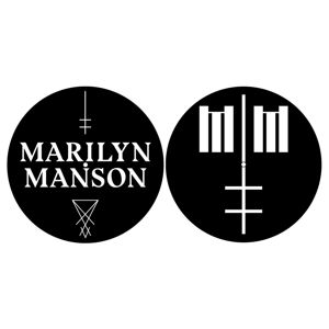 LP RAZAMATAZ Marilyn Manson Logo/Cross