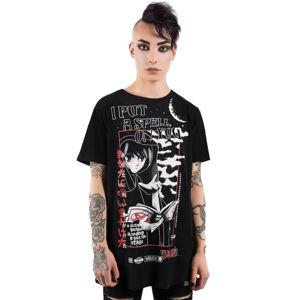 tričko KILLSTAR Spell černá XXL