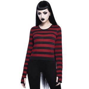 tričko dámské s dlouhým rukávem KILLSTAR - Stacy Layering - BLOOD - KSRA001313