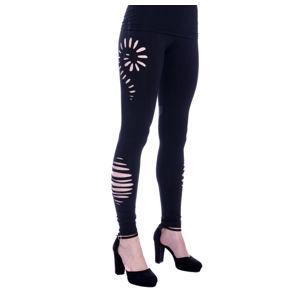 kalhoty dámské (legíny) Innocent - SAMILA - BLACK - POI517