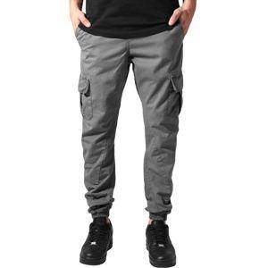 kalhoty plátěné URBAN CLASSICS Cargo Jogging L