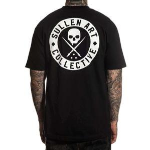 tričko pánské SULLEN - CLASSIC - BLACK - SCM3008_BK S