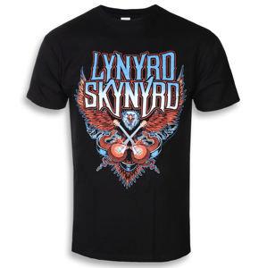 Tričko metal PLASTIC HEAD Lynyrd Skynyrd Crossed Guitars černá
