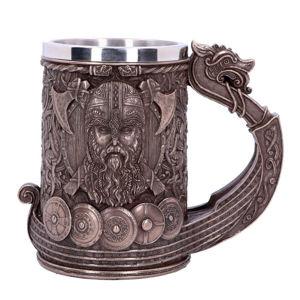 korbel (hrnek) Bronze Drakkar Viking - B4810P9