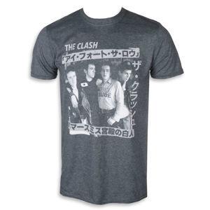 Tričko metal PLASTIC HEAD Clash KANJI černá XXL