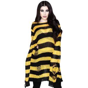 svetr dámský KILLSTAR - Busy Bee - KSRA002872 XS