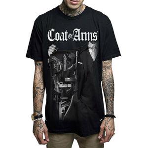 tričko hardcore MAFIOSO COAT OF ARMS II černá M