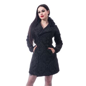 kabát dámský Poizen Industries - CRAFT COAT - BLACK - POI908 XXL