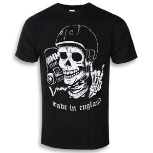 tričko hardcore GRIMM DESIGNS SKATE / DIE černá XXL