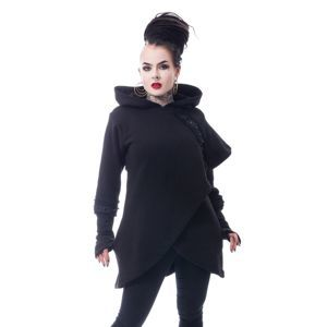 mikina dámská CHEMICAL BLACK - DARK CAPE - BLACK - POI749