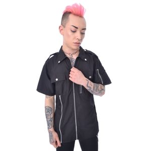 košile pánská Vixxsin - DRAKE - BLACK - POI921 S