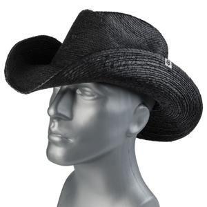 klobouk WORNSTAR - Hellrider - Black Rocker Cowboy - WSH-101-HDK-1