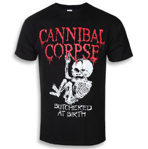 Tričko metal PLASTIC HEAD Cannibal Corpse BUTCHERED AT BIRTH BABY černá XXL